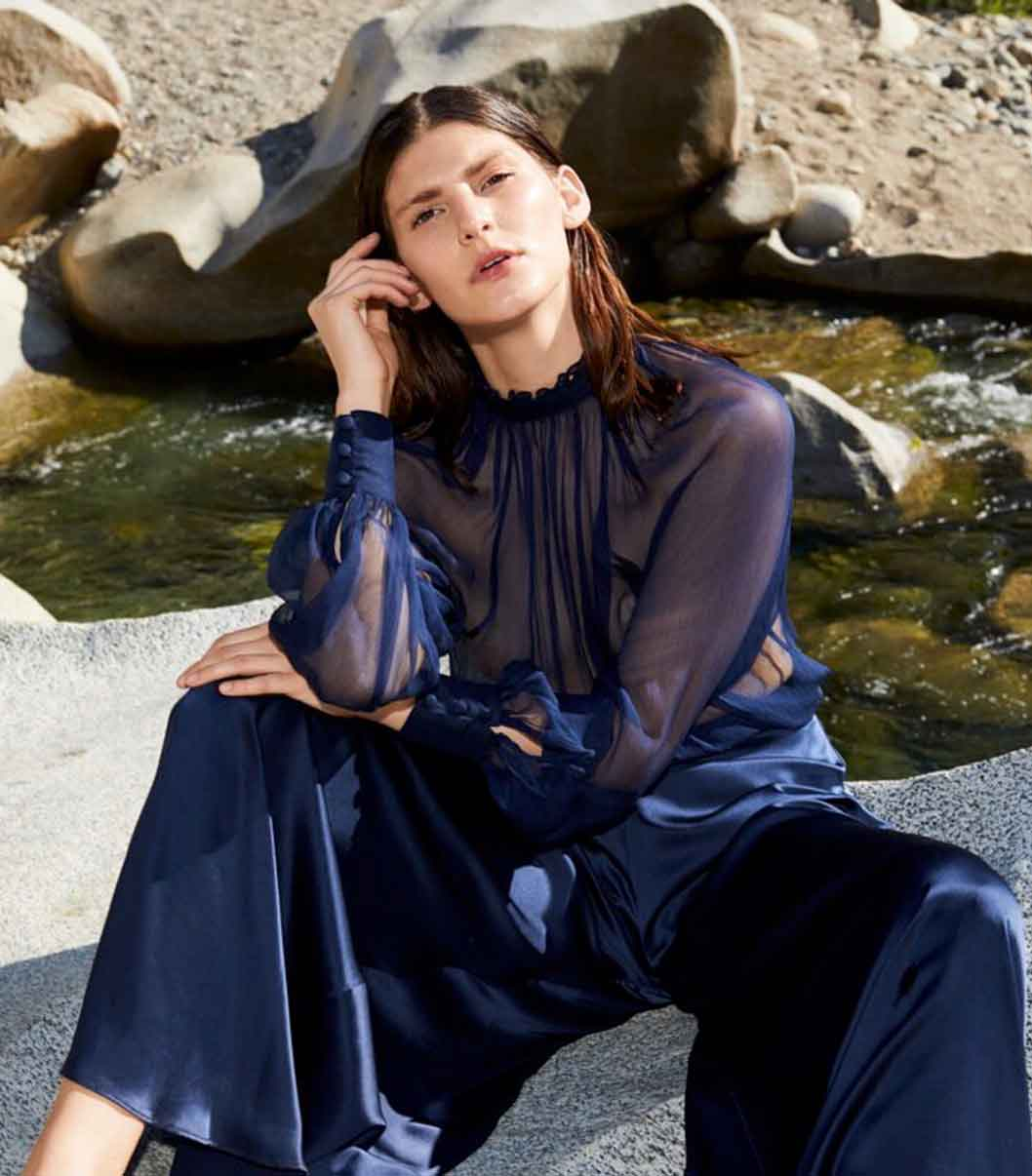 New York sustainable ethical fashion brand label Voz