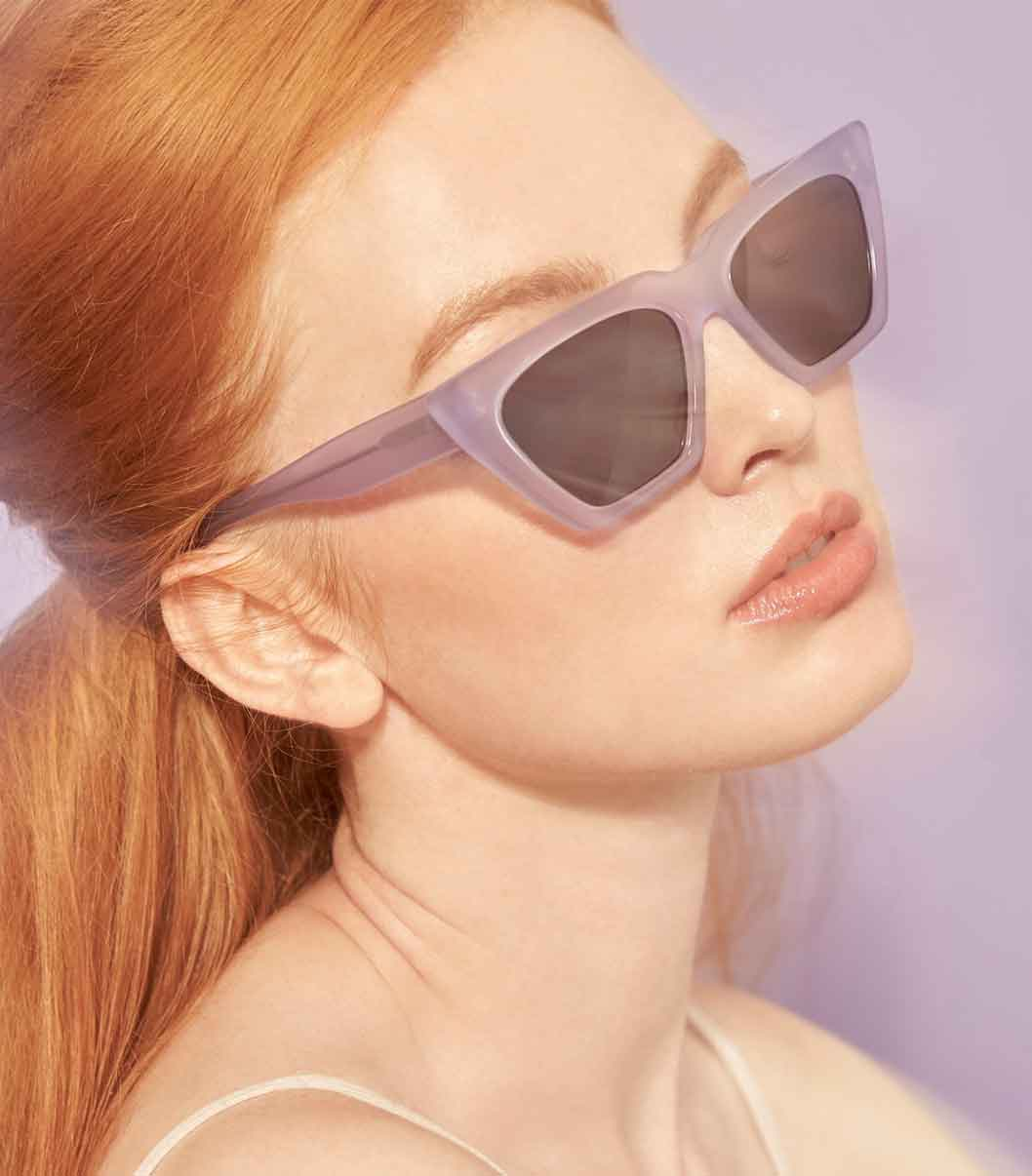 New York ethical sustainable fashion label brand Carla Colour sunglasses