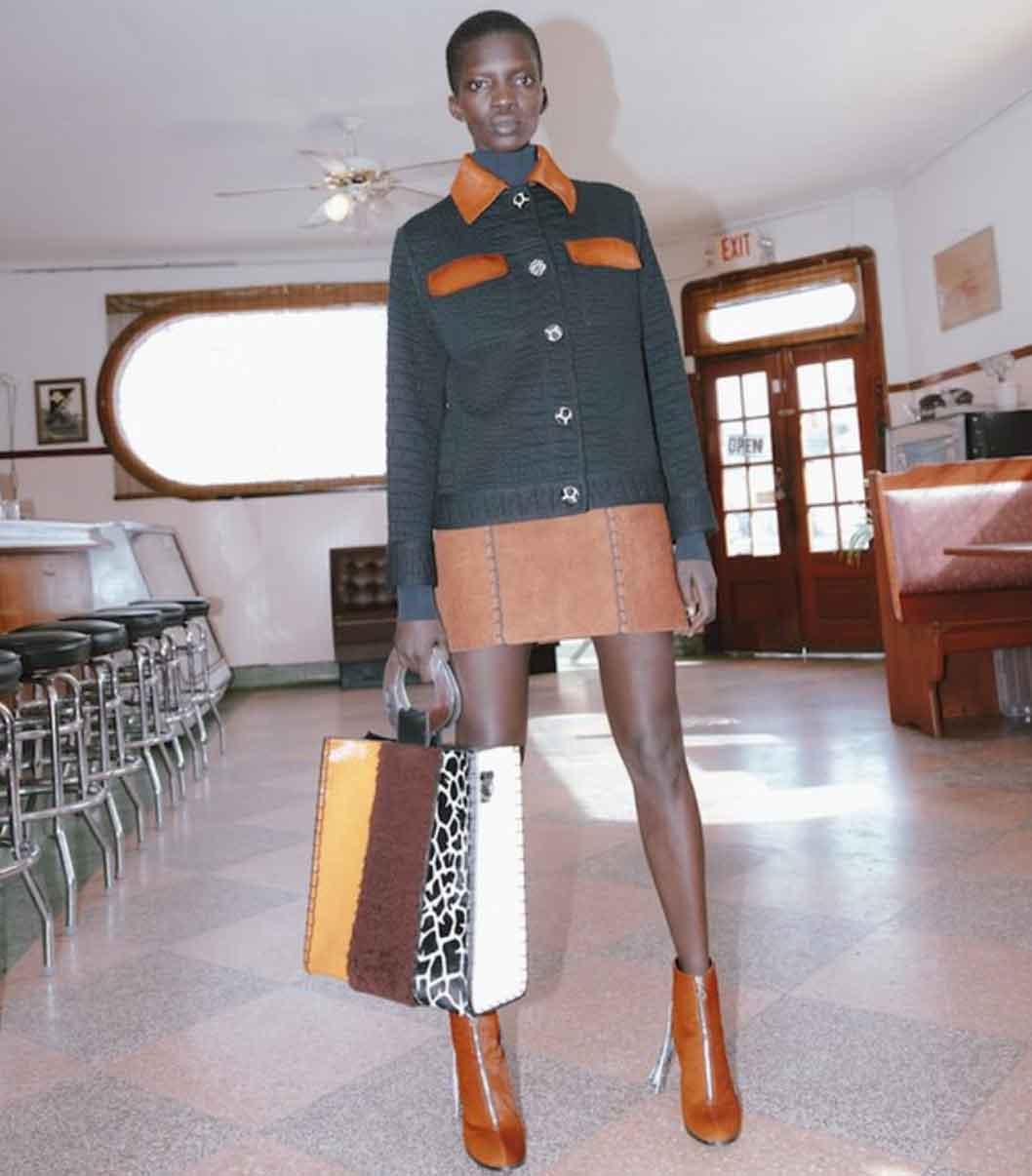 New York sustainable ethical fashion label brand EDUN handbags