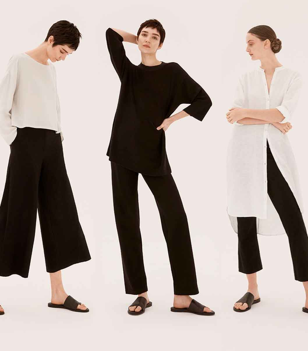 New York ethical sustainable fashion label brand EILEEN FISHER