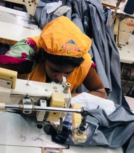 Garment worker in Dhaka Bangladesh May 2019 #whomademyclothes