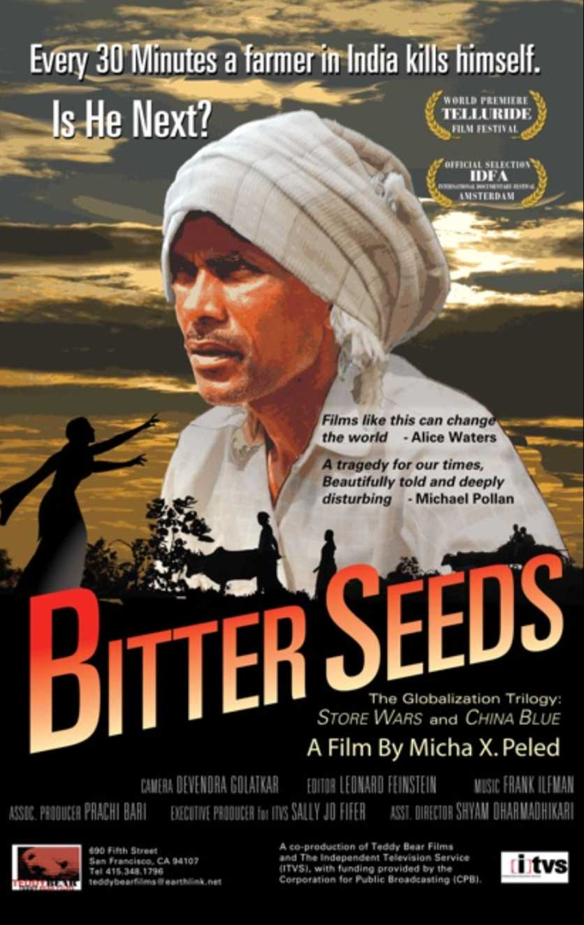 Bitter Seeds fashion documentary Indian farmer suicide Sustainable fashion Eco Lookbook