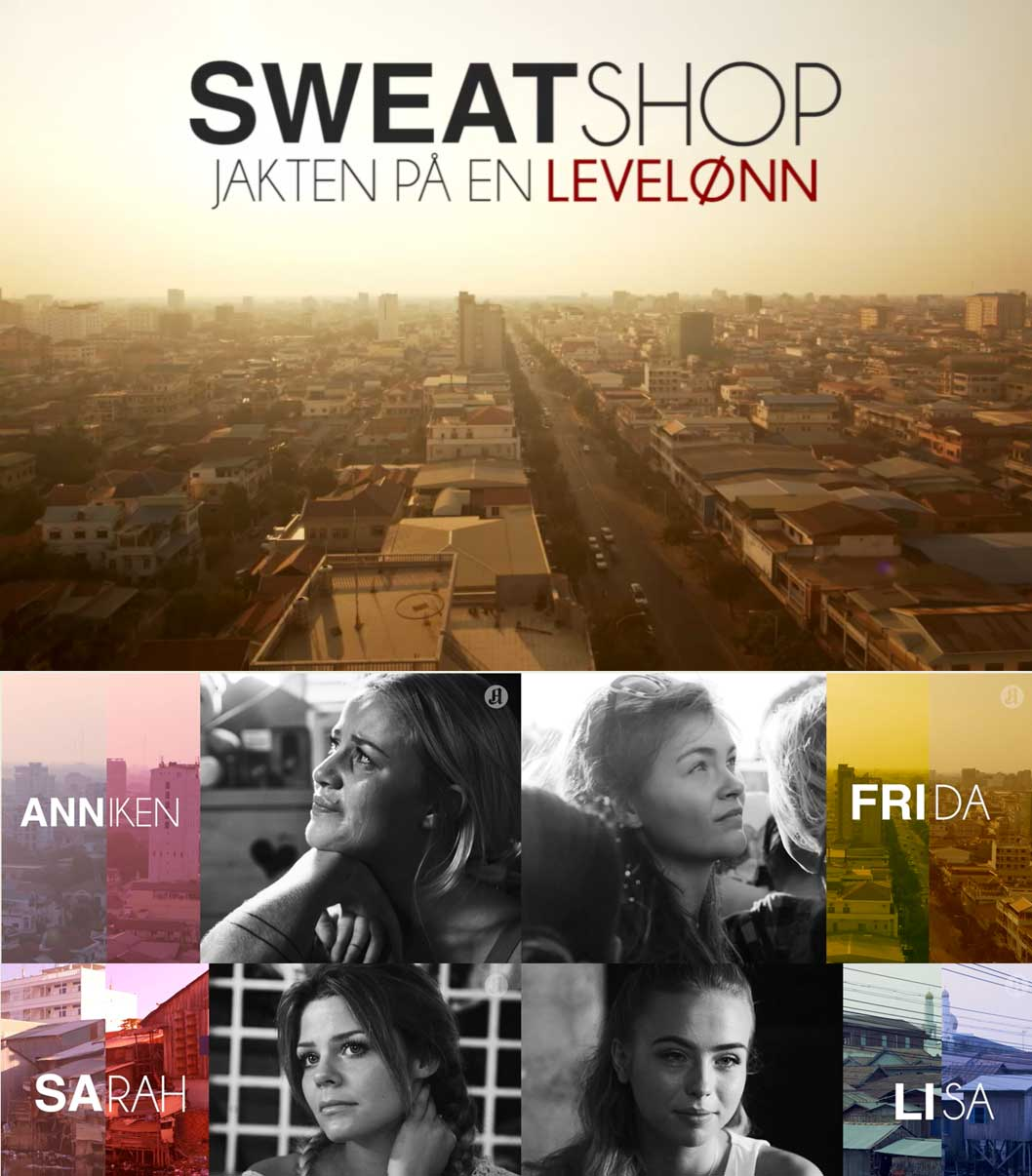 the sweatshop series norway young fashion bloggers eco lookbook eye opening
