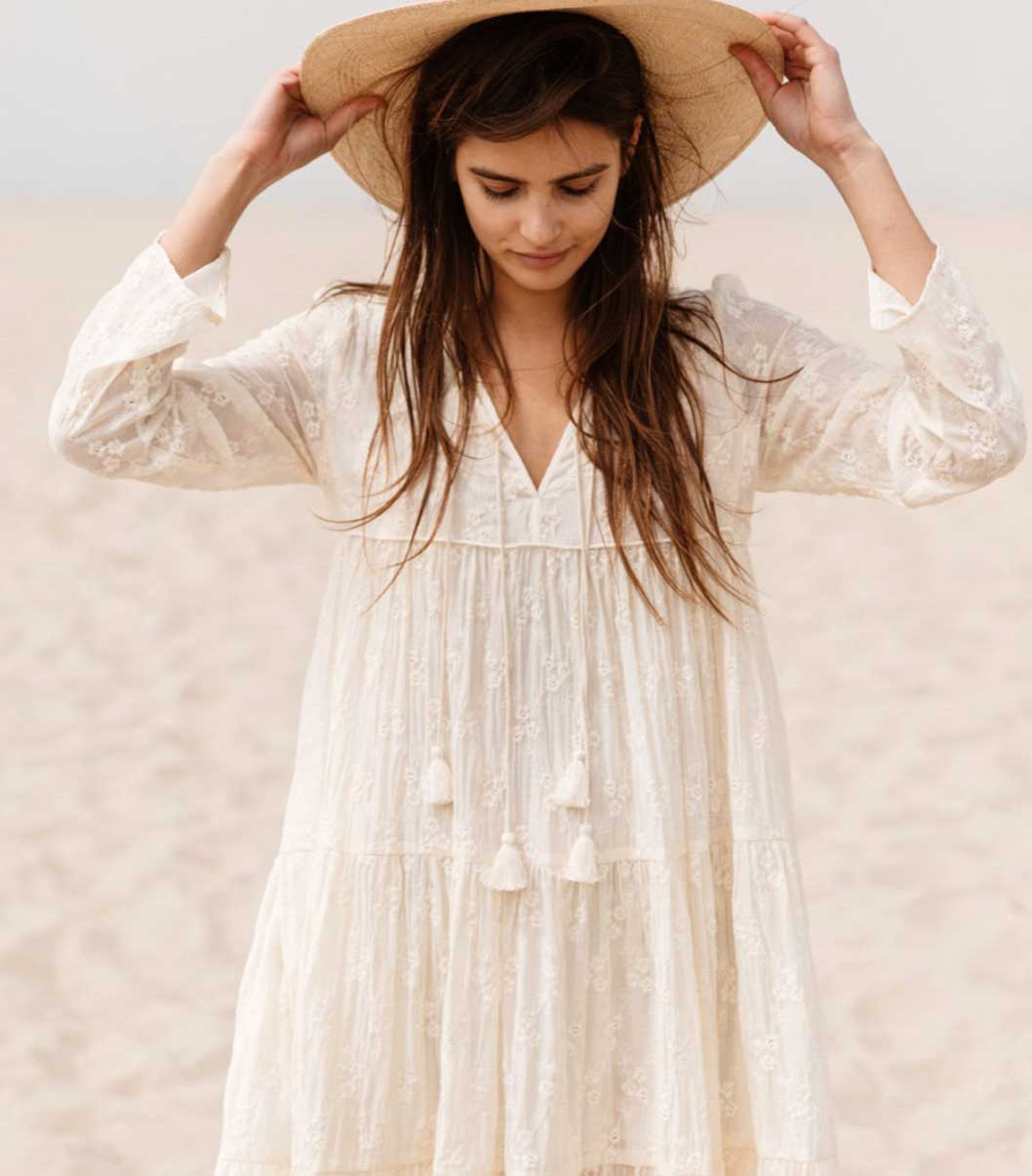Los Angeles Labels Christy Dawn Eco Lookbook ethical sustainable fashion