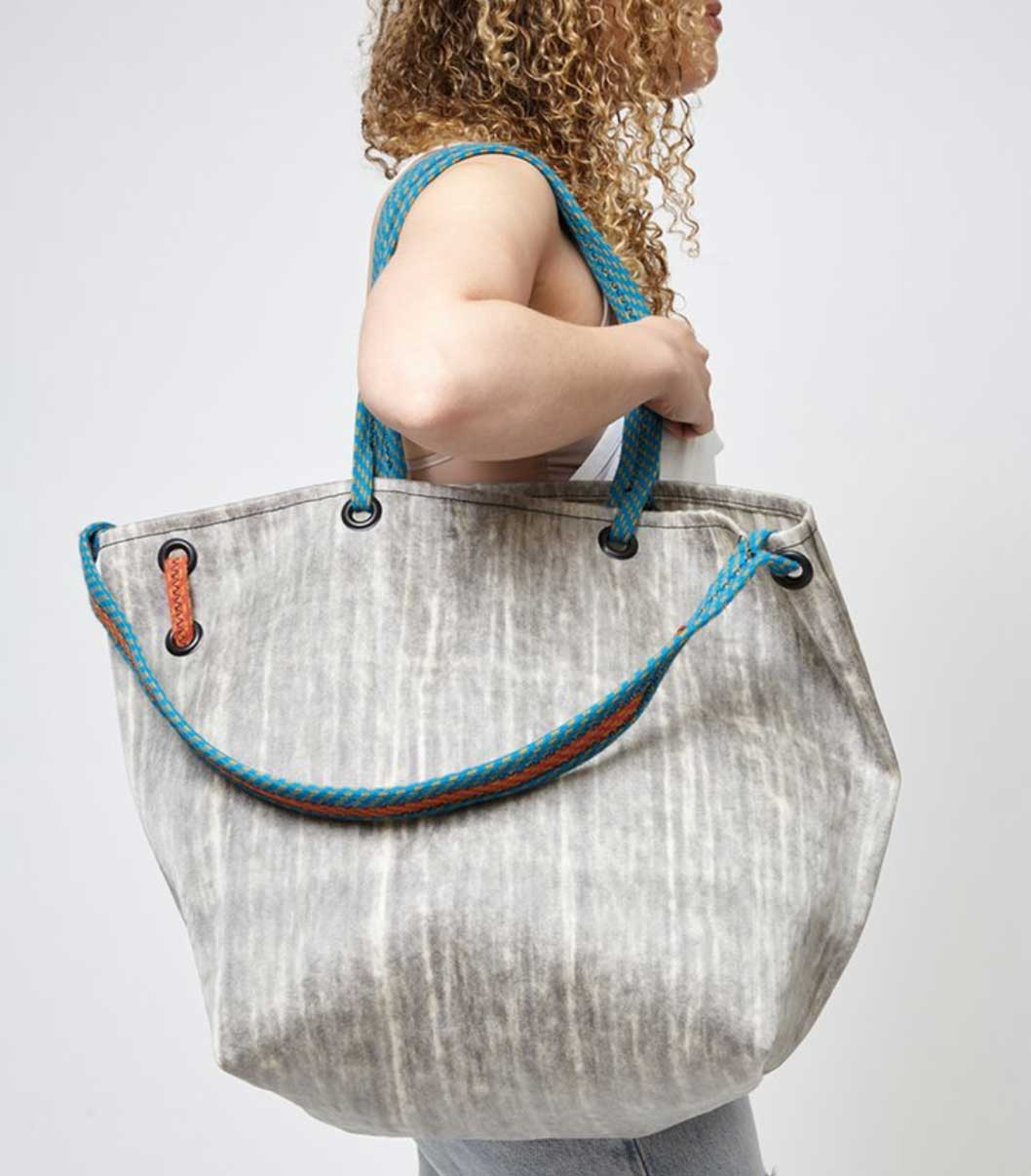 Rewilder sustainable bag label Los Angeles good fashion guide Eco Lookbook
