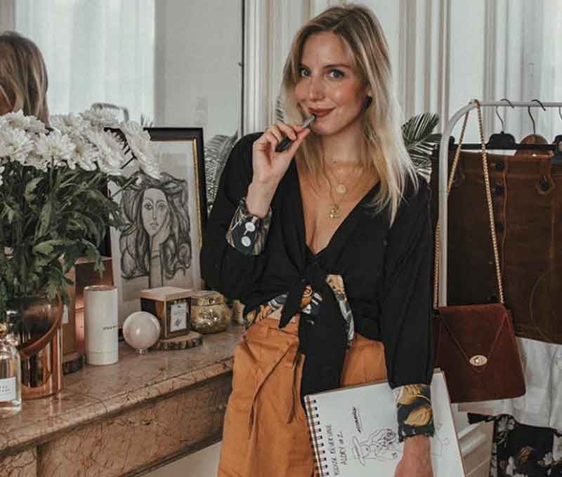 Paris sustainable influencer Aliaslouiseblog Louise Descamp Eco Lookbook