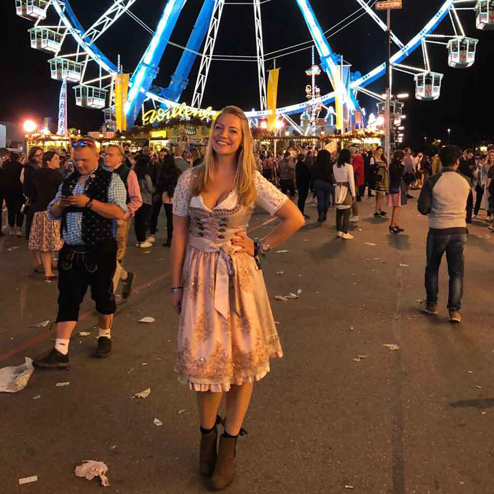 Vintage dirndl Oktoberfest 2019 costume conscious and cool Munich good fashion guide Eco Cookbook