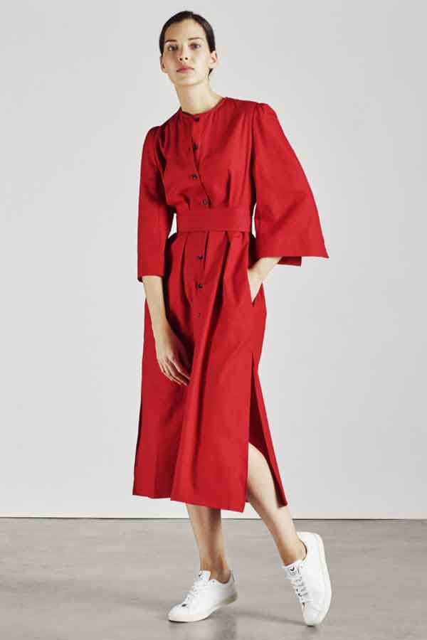 Alice Early The Raminta Shirt dress gloval Eco Lookbook sustainable and ethical fashion guide