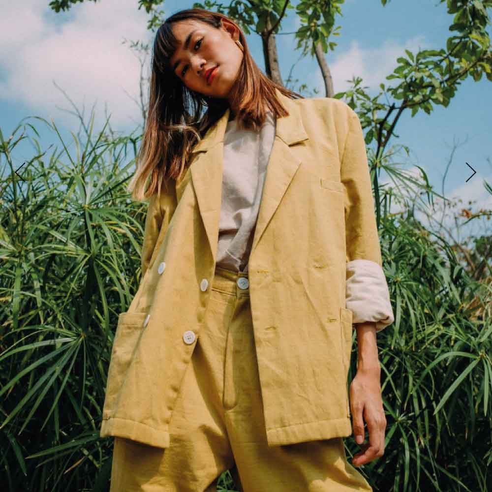 Sustainable Blazer Trends Autumn 2019 Eco Lookbook KNOW THE ORIGIN