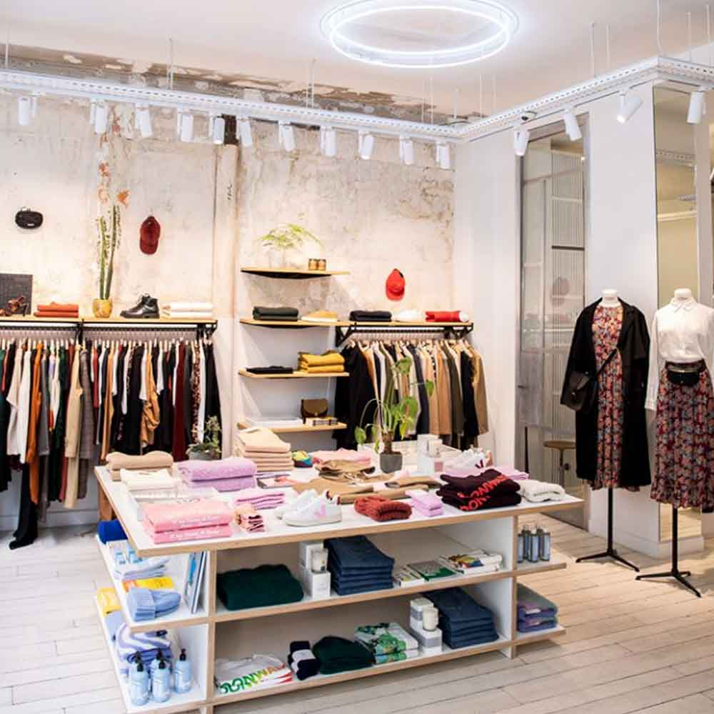 Where to shop sustainable in Paris Centre Commercial fashion Winter break in Paris sustainable city guide ECOLOOKBOOK