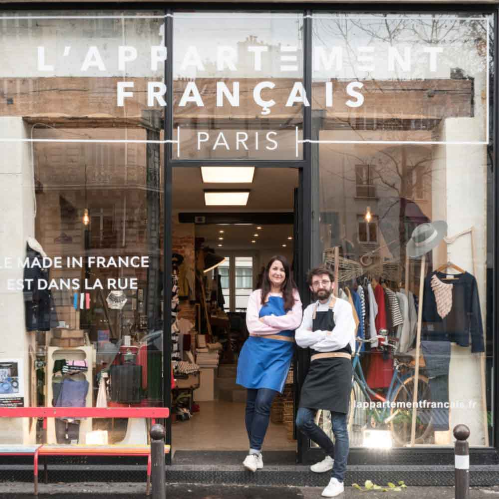 Where to shop sustainable in Paris APPARTEMENT FRANCAIS fashion Winter break in Paris sustainable city guide ECOLOOKBOOK