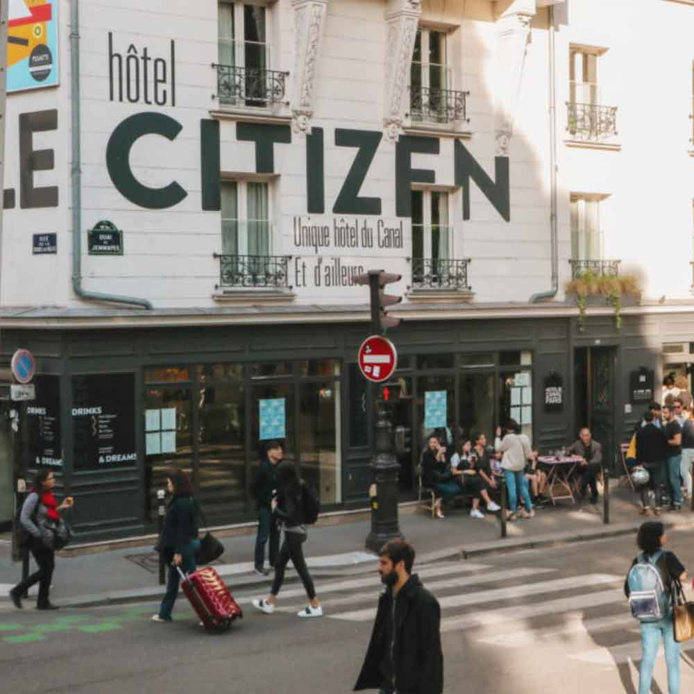 LE CITIZEN HOTEL PARIS WHERE TO STAY Winter break in Paris sustainable city guide ECOLOOKBOOK