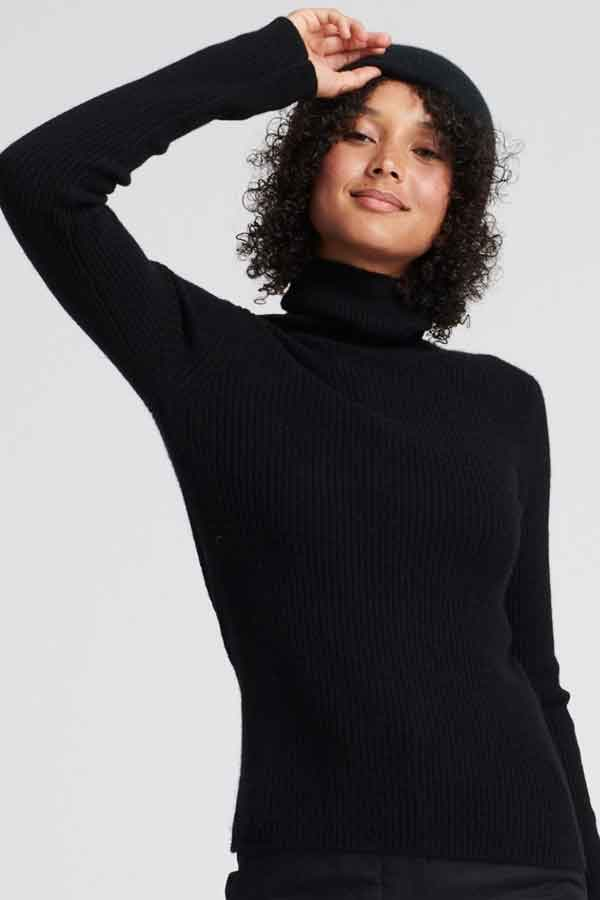 NADAAM turtle neck dress me sustainable good fashion guide ECOLOOKBOOK