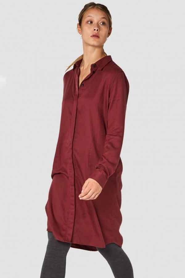 KINGS OF INDIGO PRISCILLA DRESS KNEE LENGTHS ethical and sustainable good fahion guide ECOLOOKBOOK
