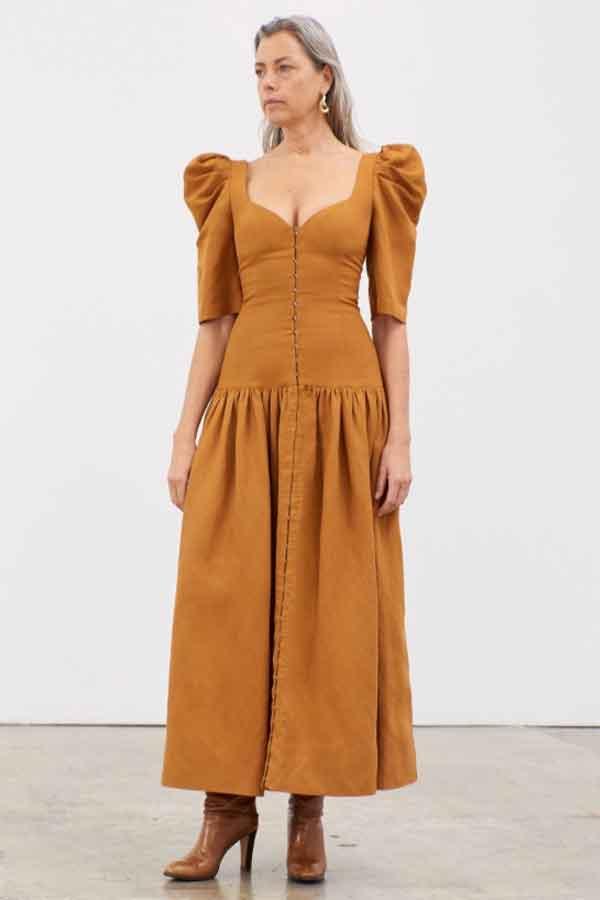MARA HOFFMAN Paedra Dress ethical sustainable good fashion guide ECOLOOKBOOK
