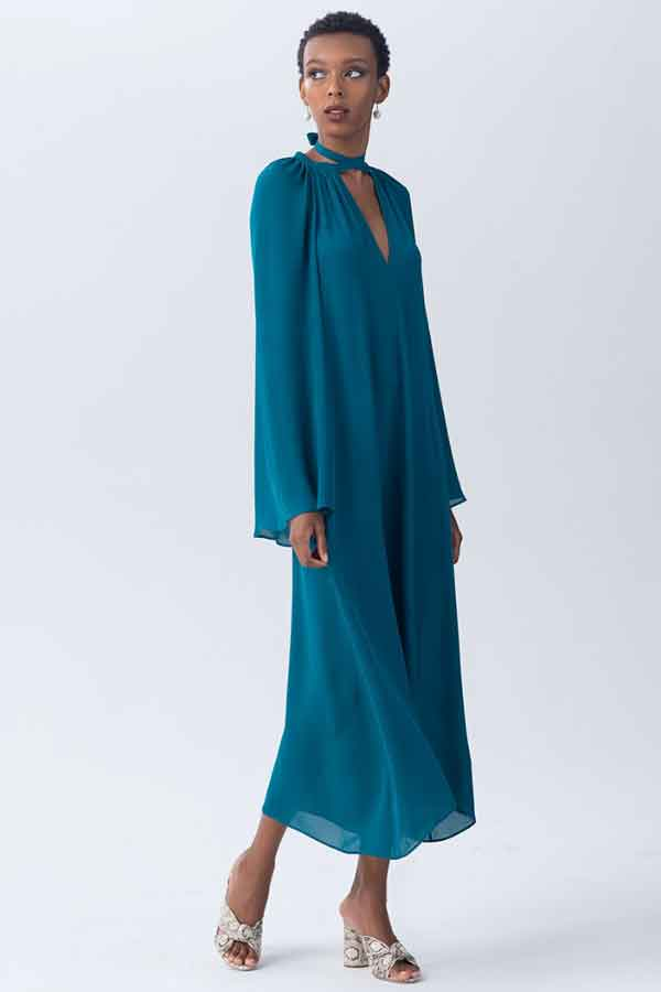 VOZ Bell Sleeve dress ethical sustainable good fashion guide ECOLOOKBOOK