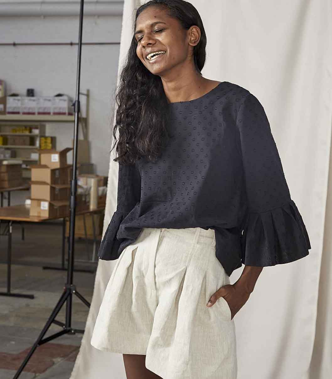 Lois Hazel sustainable ethical fashion label Australia
