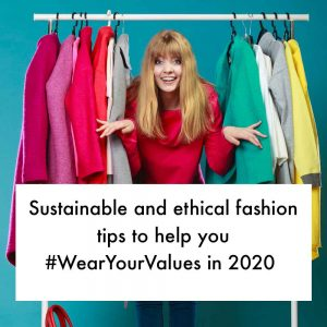 ethical and sustainable fashion tips 2020 wear your values good fashion guide ECOLOOKBOOK
