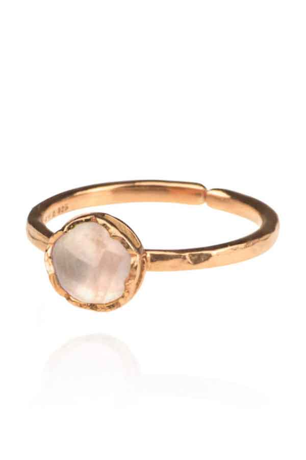 Zefyr Dosha Ring Rose Gold Ethical Jewellery Guide