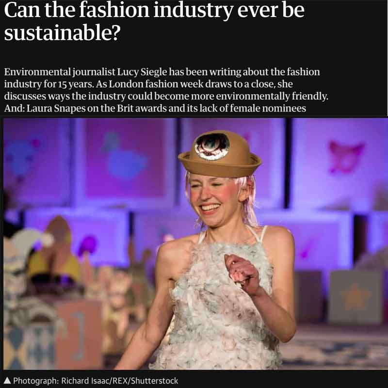 Can the fashion industry ever be sustainable? Lucy Siegle Guardian podcast
