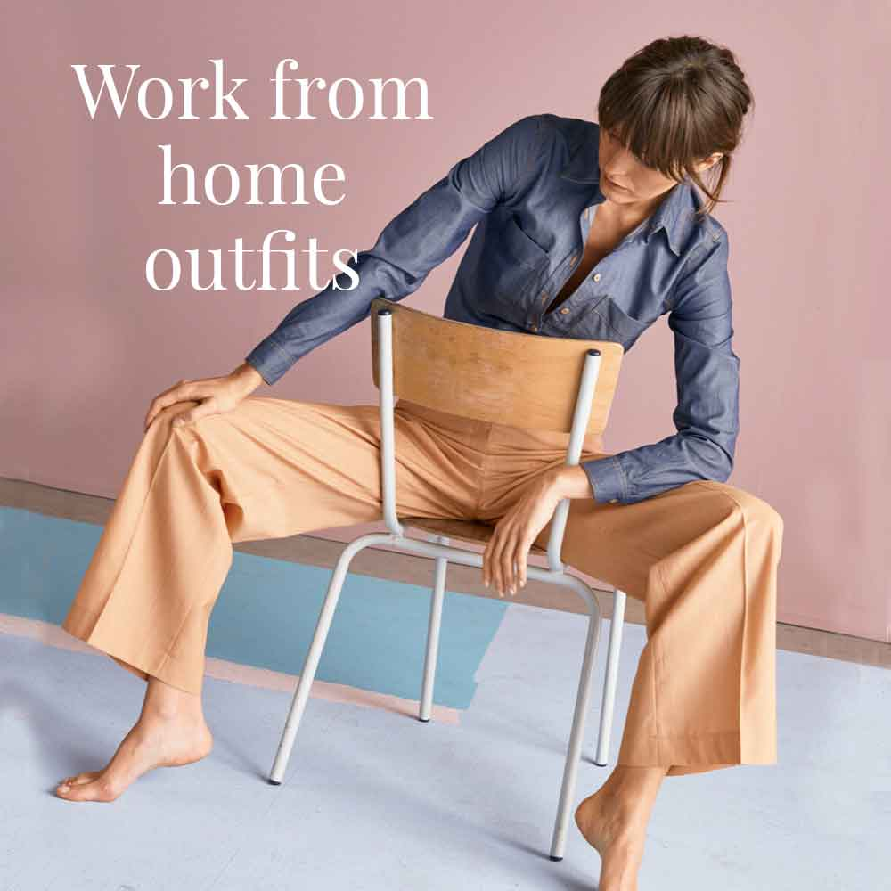 WORK FROM HOME SUSTAINABLE OUTFITS good fashion guide ECOLOOKBOOK blog article