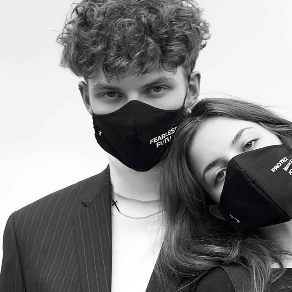 PHYNE GERMAN LABEL SUSTAINABLE FACE MASK Gesichtsmaske good fashion guide ECOLOOKBOOK