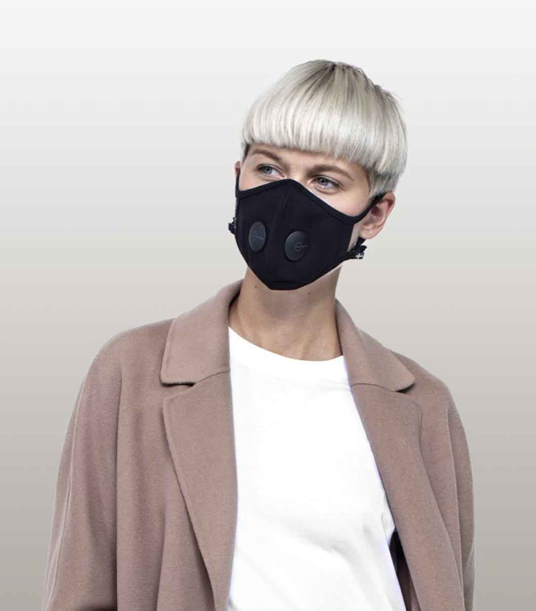 AIRINIUM SWEDEN REUSABLE AND SUSTAINABLE FACE MASK good fashion guide ECOLOOKBOOK