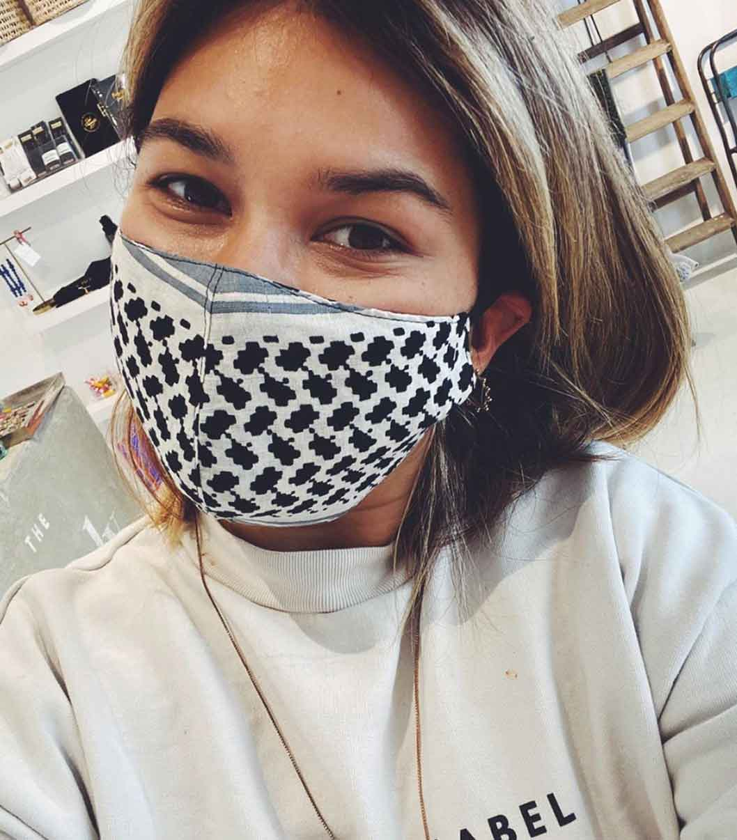 THE LOVELY CONCEPT SUSTAINABLE REUSABLE FACE MASK good fashion guide ECOLOOKBOOK