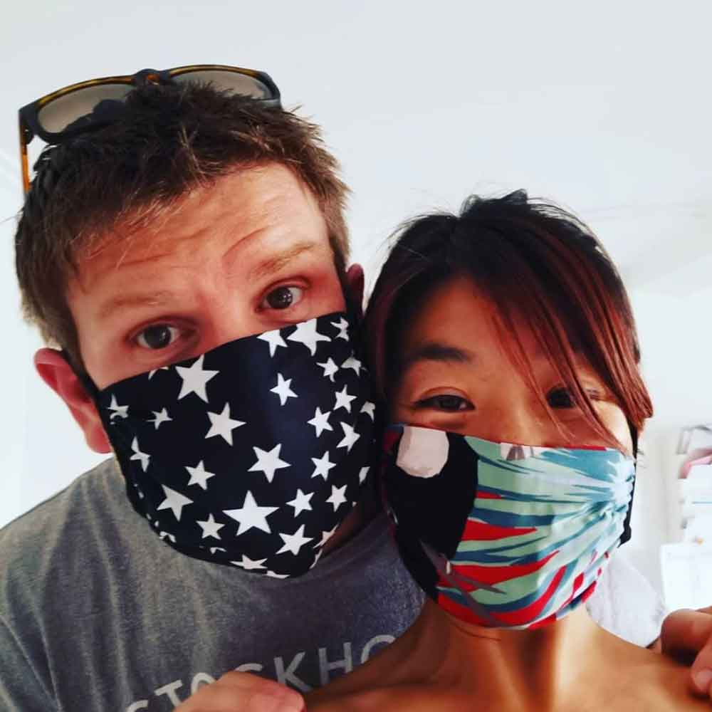 ONE GOOD THING sustainable reusabel face mask good fashion guide ECOLOOKBOOK