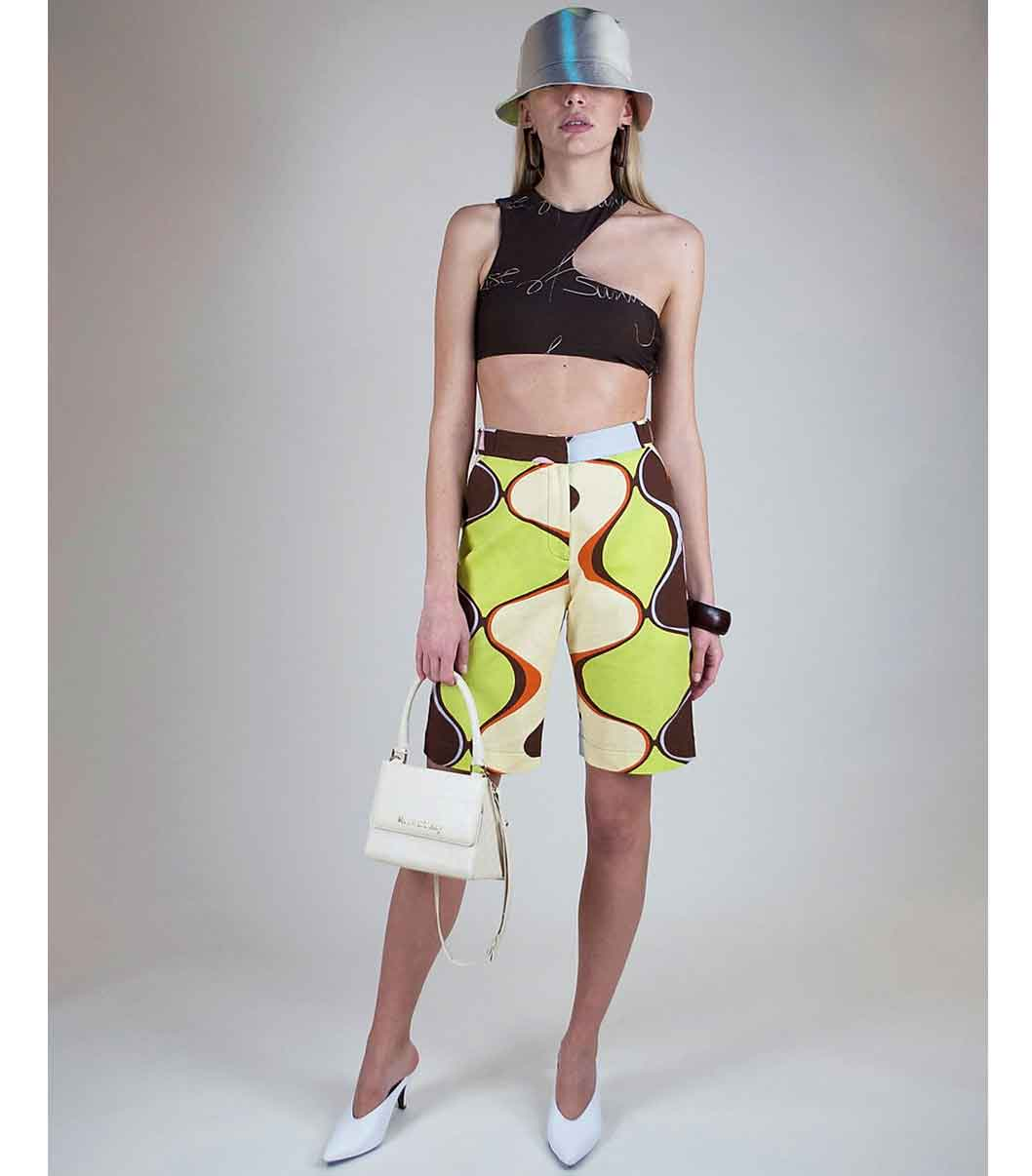 House of Sunny Sustainable Fashion e-flow technology repeat prints fashion label london