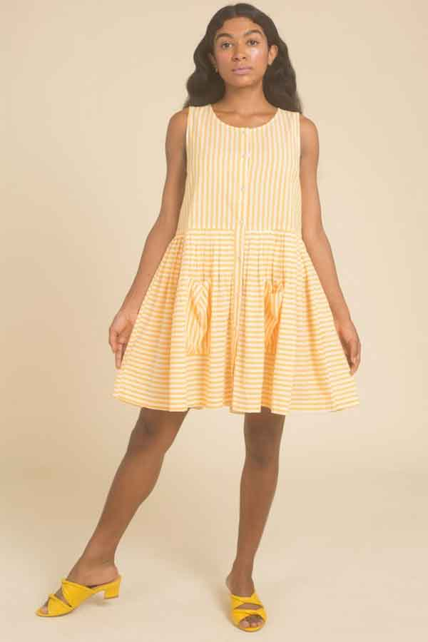 Sustainable Summer Dress Samantha Pleet Fashion Brand New York