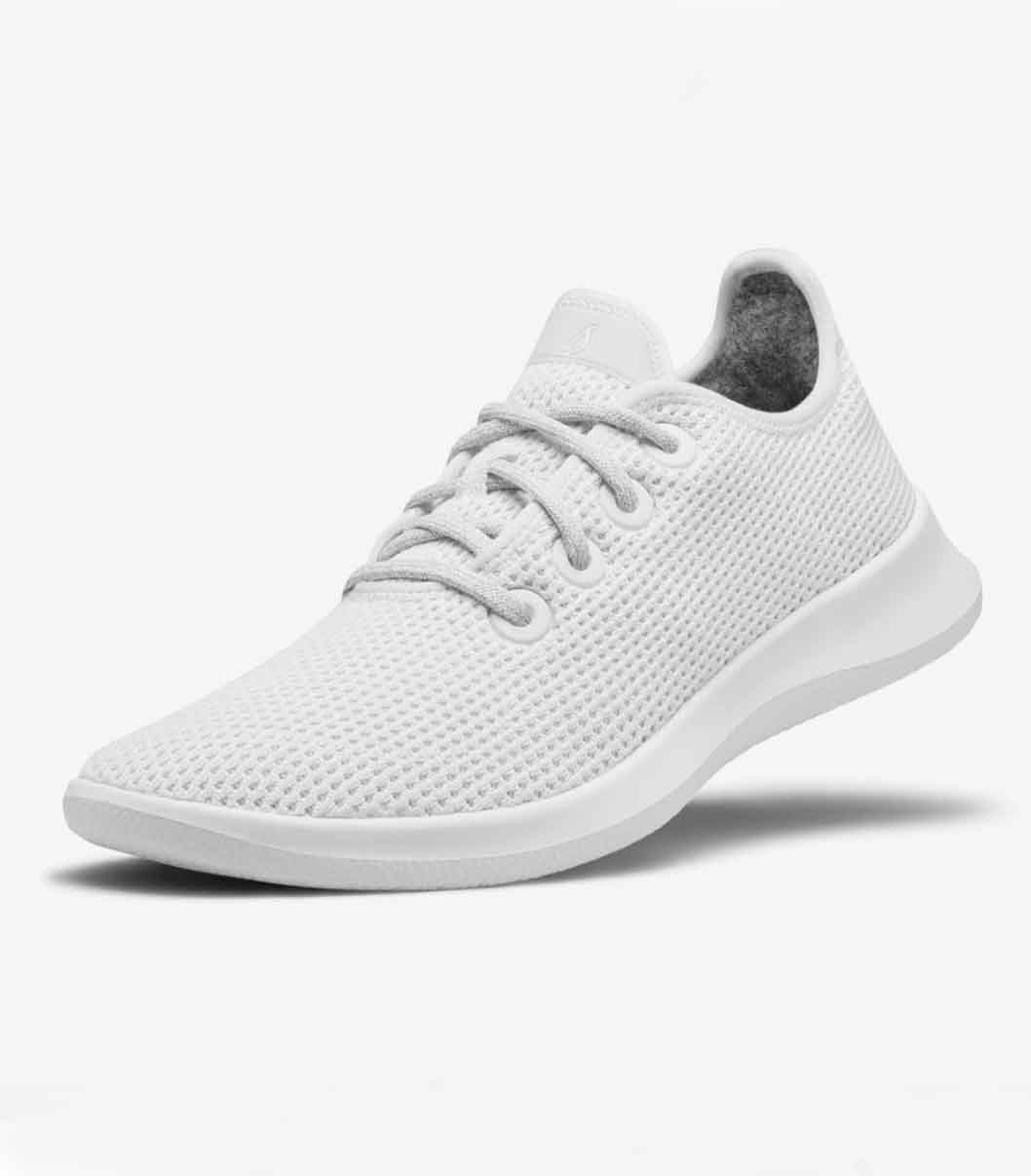 ALLBIRDS Women's Tree Runners Chalk | Sustainable Footwear | Sustainable Sneakers
