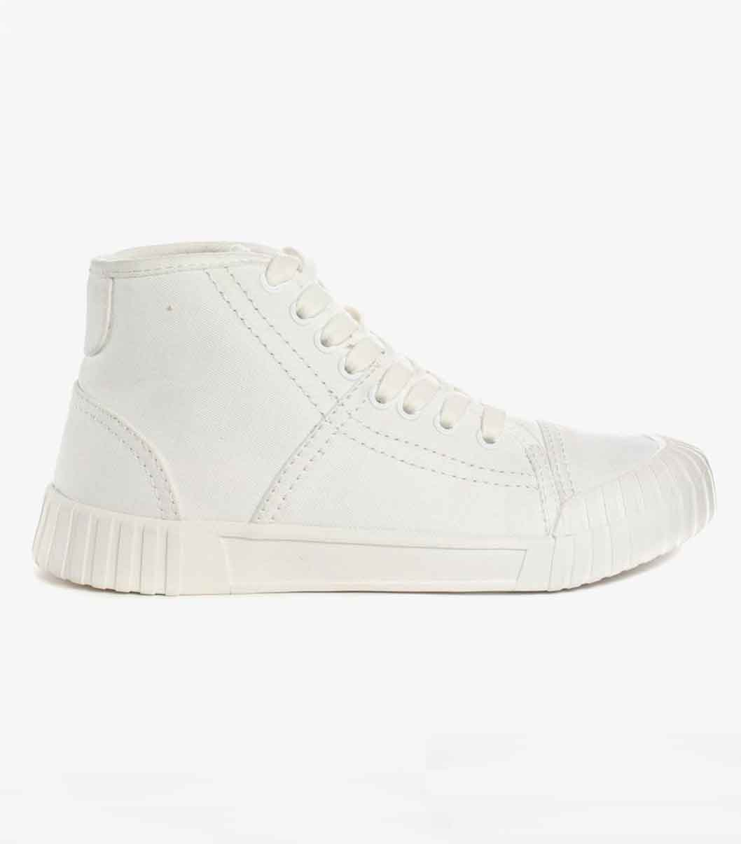 GOOD NEWS LONDON SUSTAINABLE SNEAKER BRAND SLUGGER WHITE HIGH