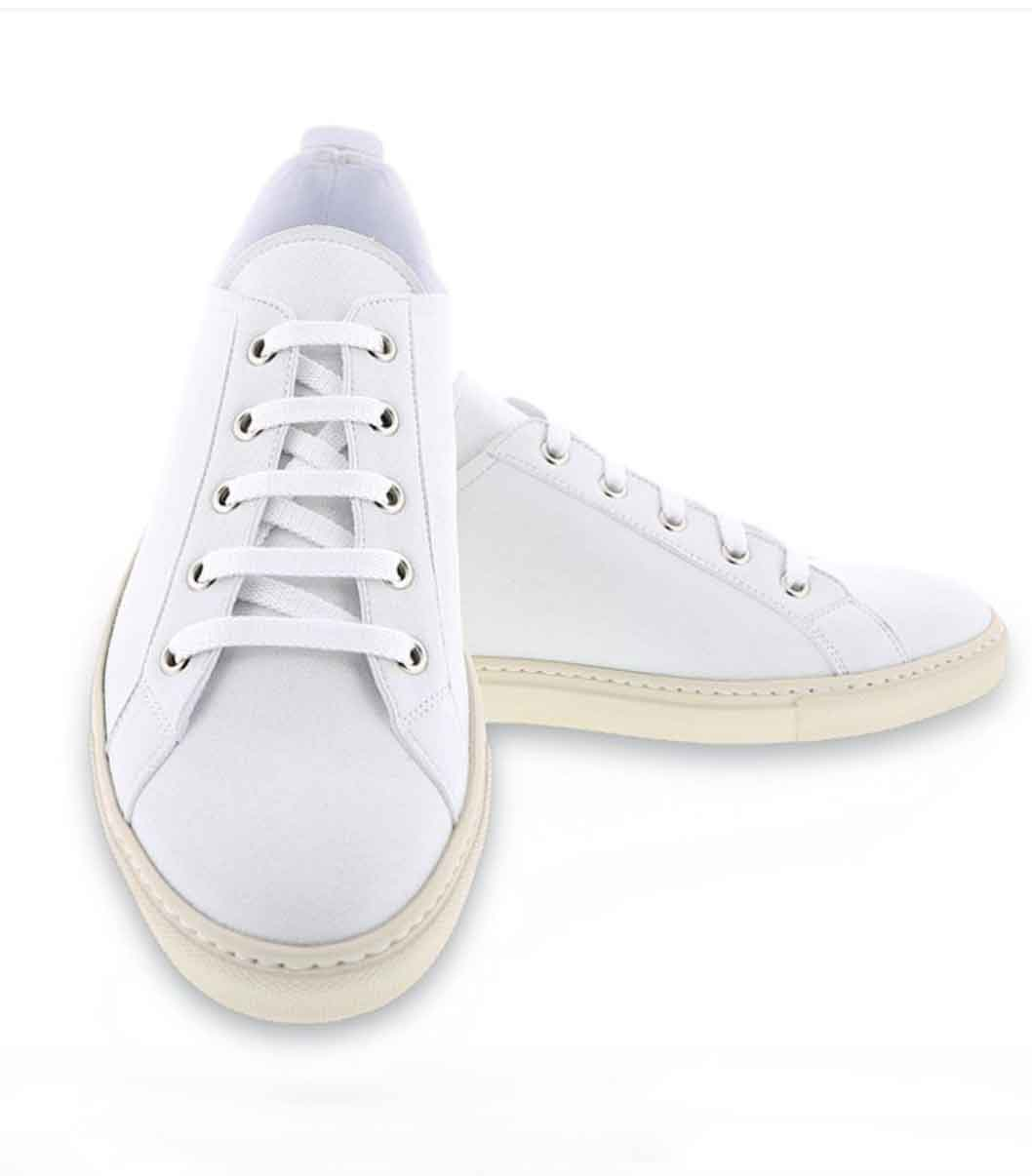 NOAH ITALIAN VEGAN SHOES ECOLOOKBOOK WHITE SUSTAINABLE SNEAKERS