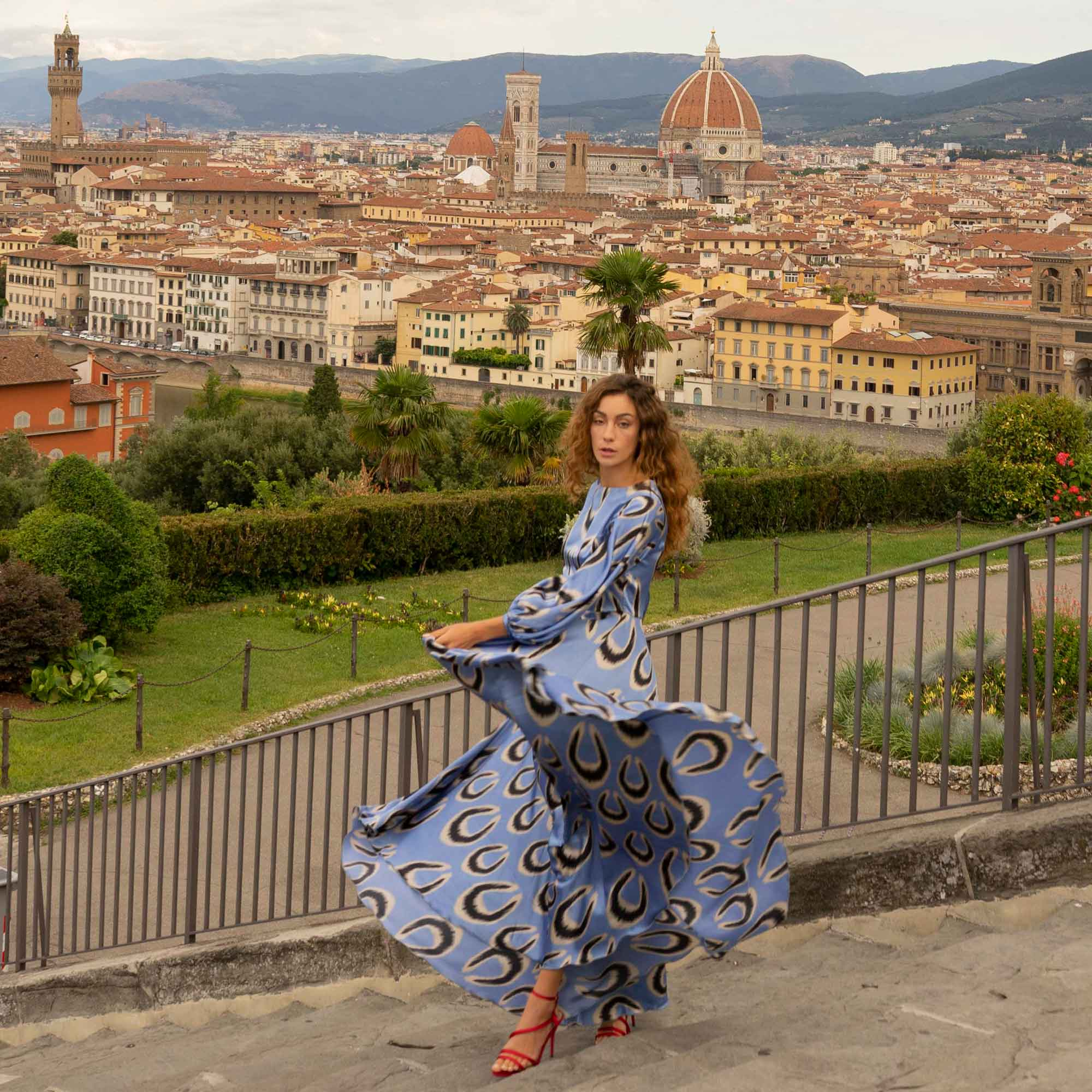 BLOG LA DOLCE VITA BELLE IKAT DRESS FLORENCE ECOLOOKBOOK