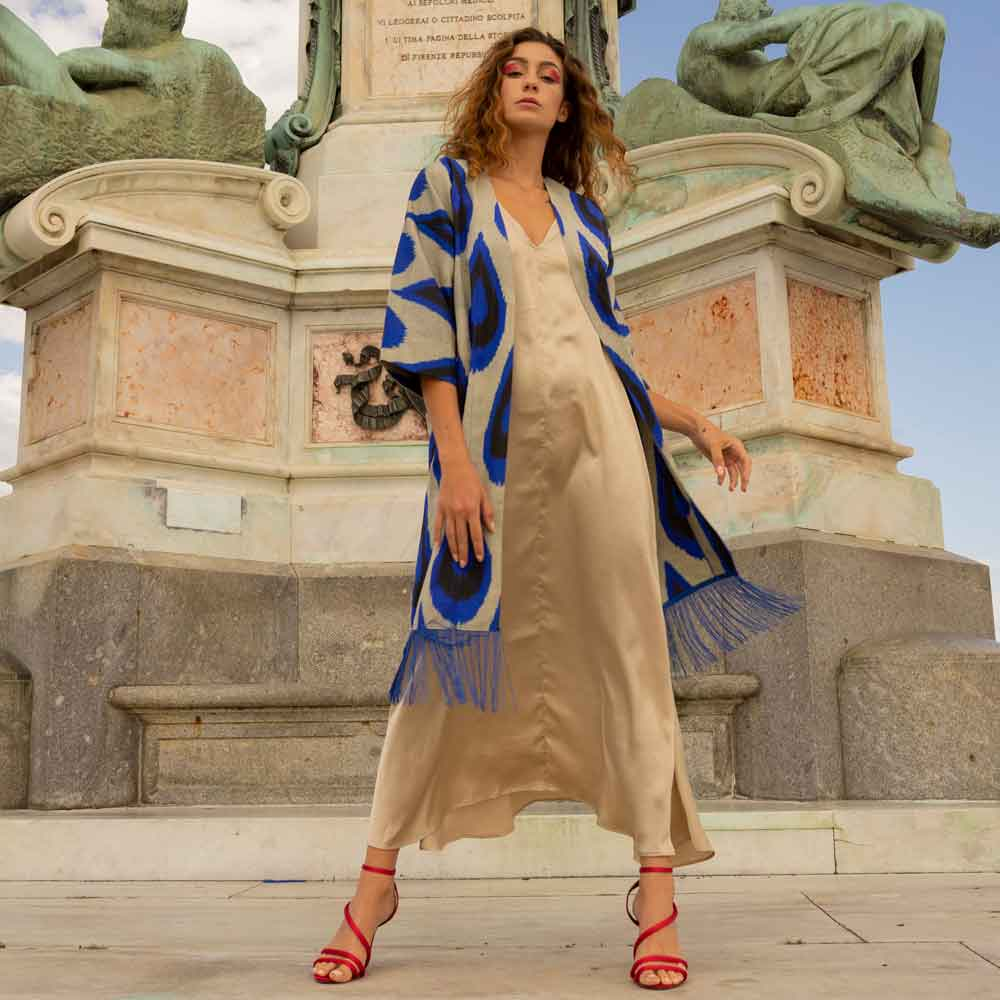 BLOG LA DOLCE VITA BELLE IKAT DRESS FLORENCE ECOLOOKBOOK