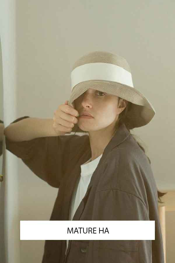 MATURE HAT JAPAN ECO HATS ECOLOOKBOOK