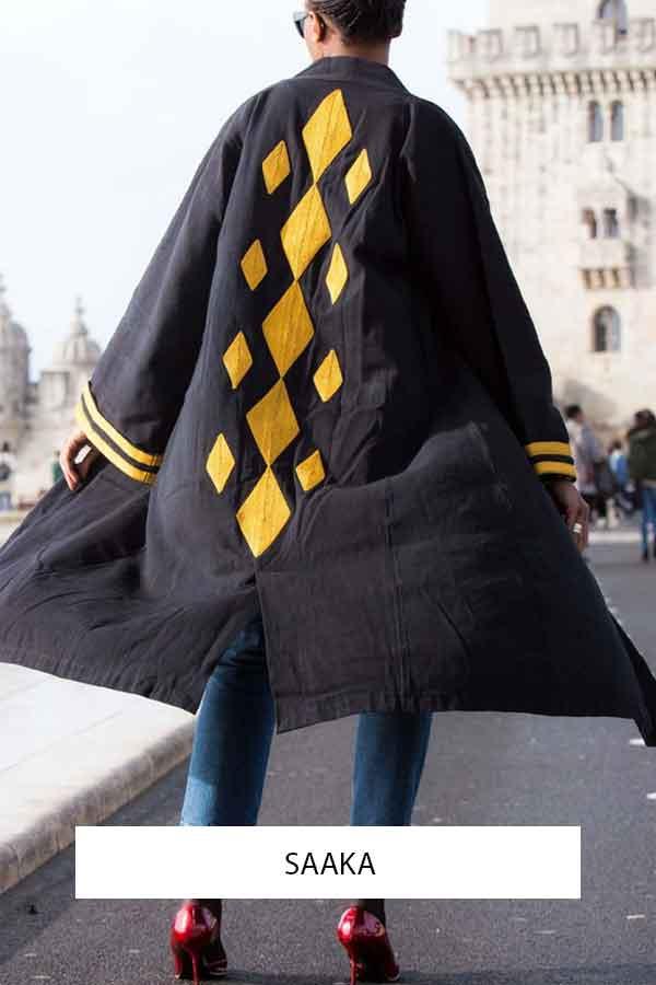 SAAKA HANDMADE WEAVING Textiles Blankets Rugs Kimono NIGER ECOLOOKBOOK