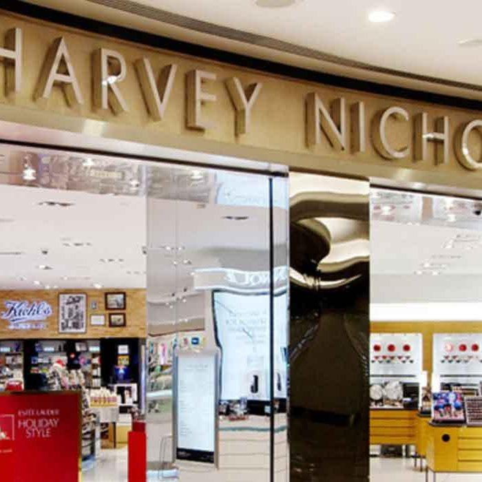 HARVEY NICHOLS WHERE TO SHOP IN ARABIA DUBAI SUSTAINABLE FASHION ECOLOOKBOOK