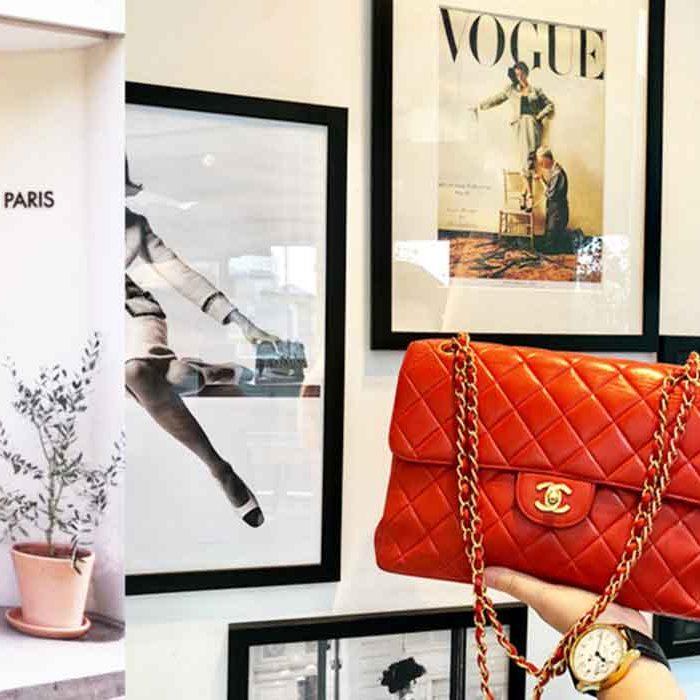 vintage paris preloved luxury accessories good fashion guide paris France eco lookbook