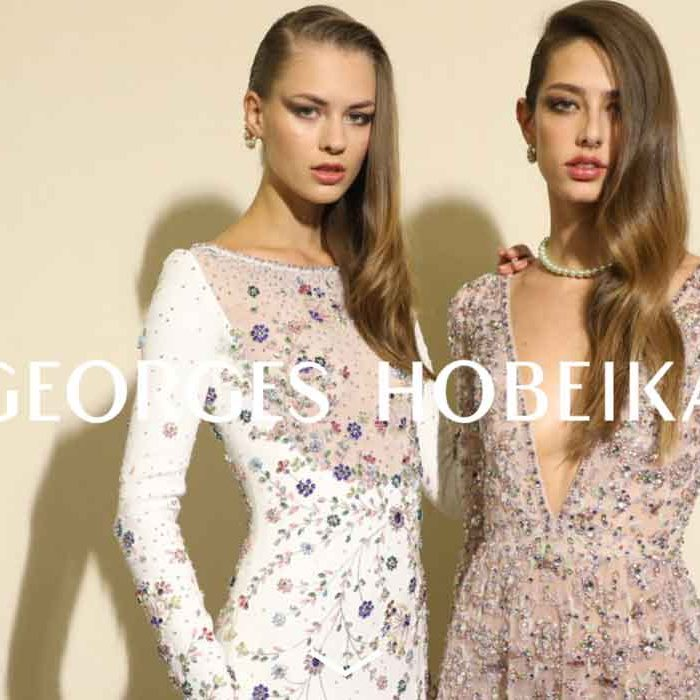 GEORGES HOBEIKA rent swao haute couture ready to wear bridal fashion in Paris France