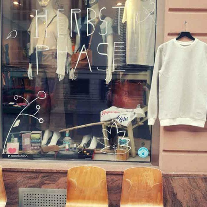 Phasenreich sustainable fashion shop eco lookbook