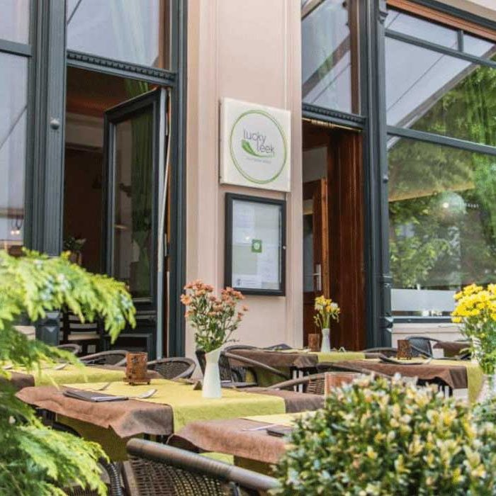 Going out eco in Berlin sustainable restaurants vegna Lucky Leek fine dining