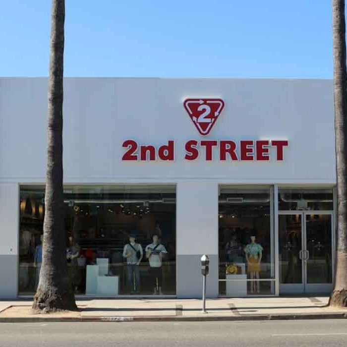 Vintage Second Hand 2nd Street Melrose USA good fashion guide Eco Lookbook