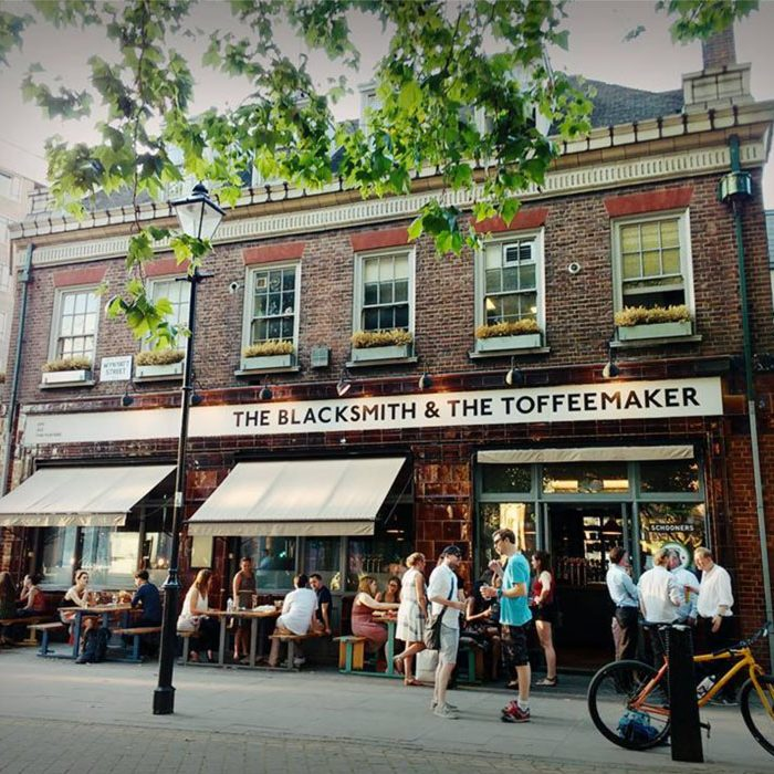 Going out in London vegan gastropub Blacksmith & The Toffeemaker