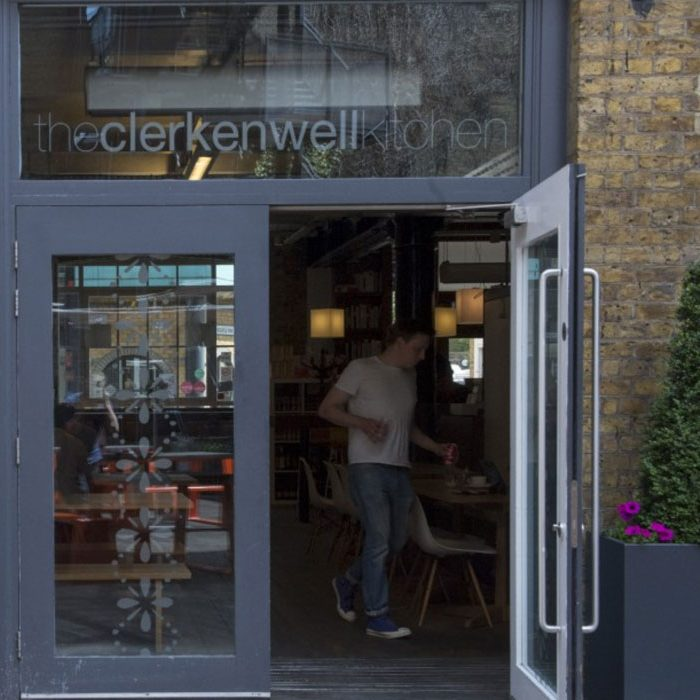 Going out in London sustainable eating the Clerkenwell Kitchen