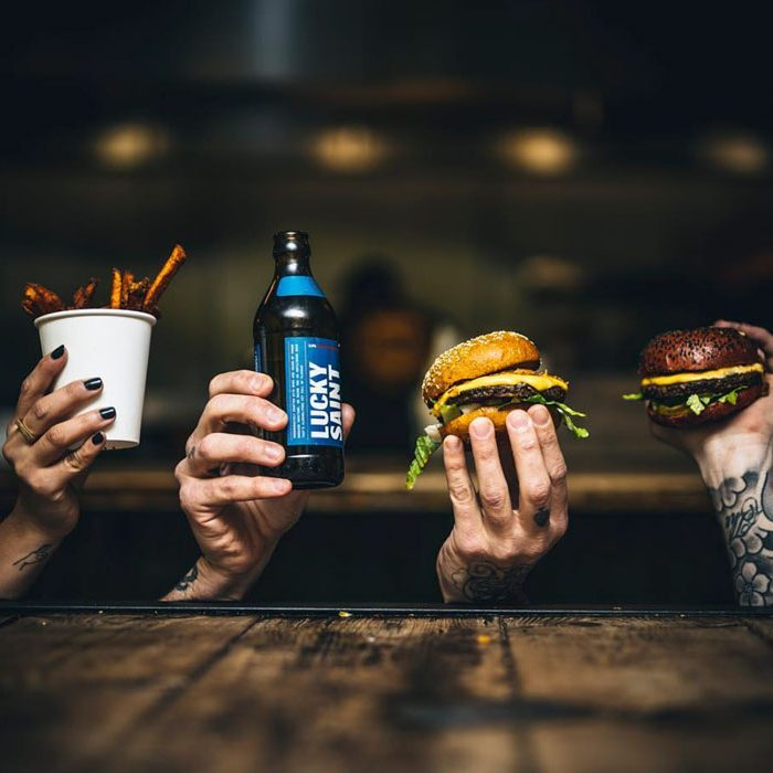 Going out in London sustainable restaurants burger Filth Foods