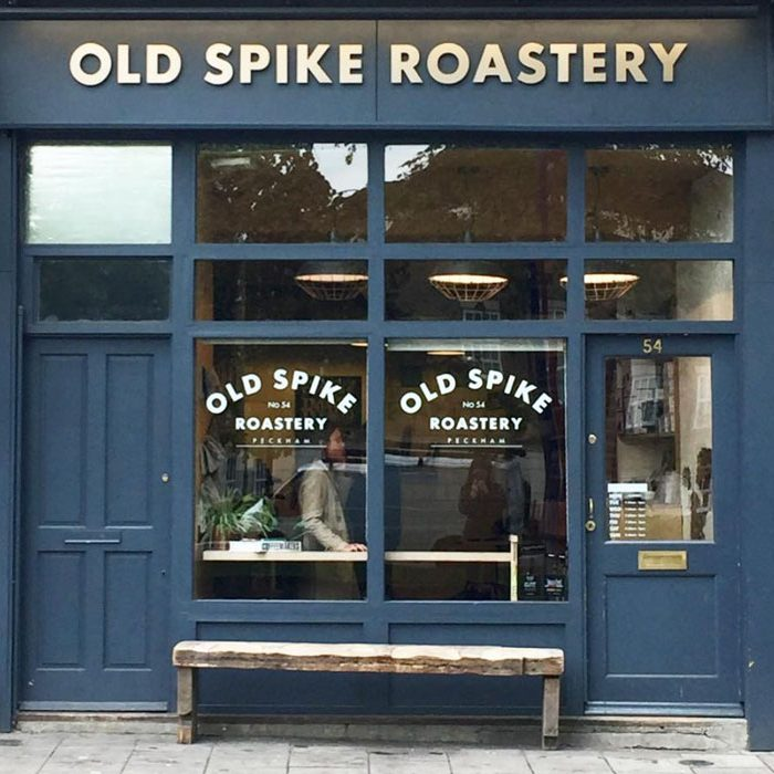 Going out in London sustainable ethical coffee shop Old Spike Roastery