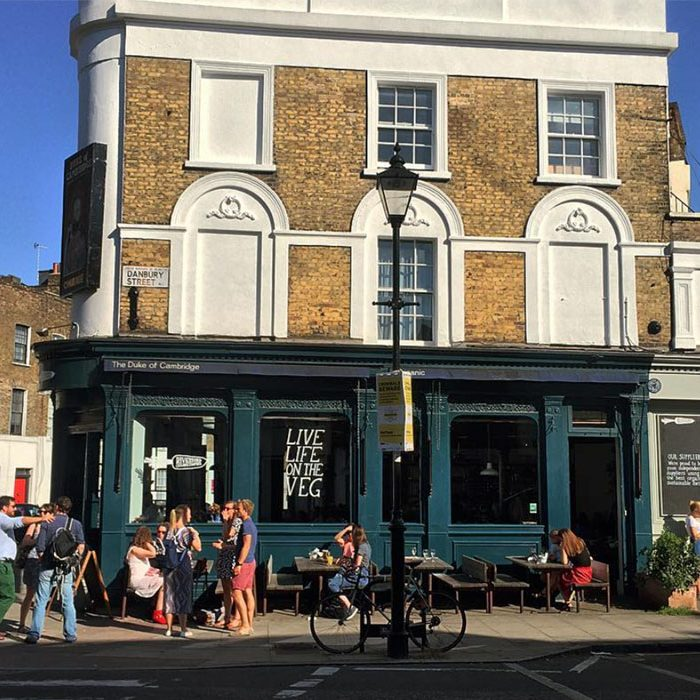 Certified organic pub | Riverford at The Duke of Cambridge | Islington | Sustainable, local, seasonal produce | London's best sustainable restaurants and bars