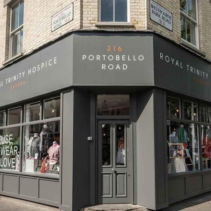 London Preloved Vintage Fashion Royal Trinity Hospice EcoLookbook Shop Sustainable